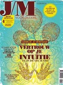 Tijdschrift J/M voor ouders. Juliska Bacher van Praktijk Eigentijdse Kinderen is geïnterviewd voor een arrtikel over intuïtie in het J/M Magazin