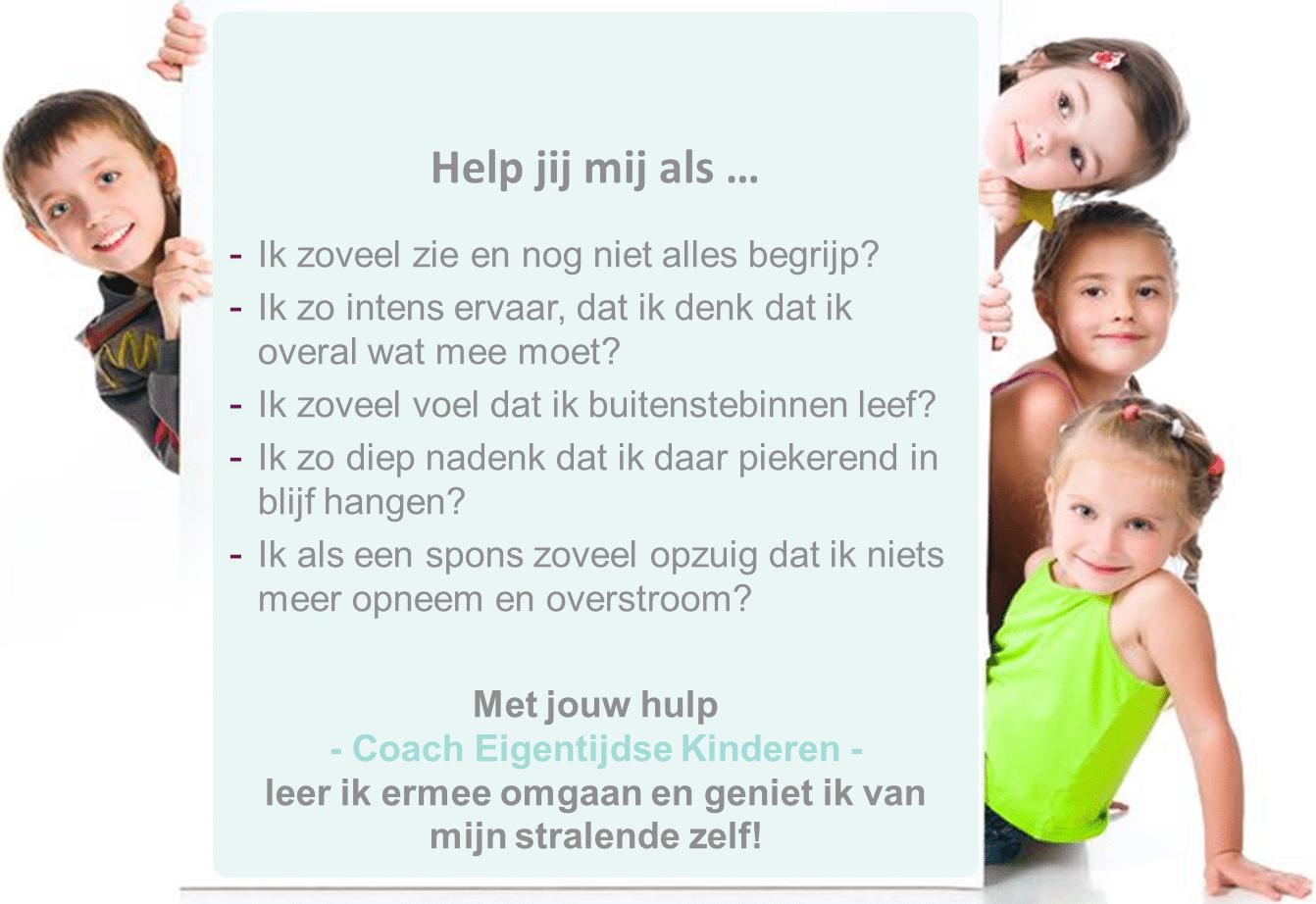 Training HSP coach, coach hooggevoelige kinderen