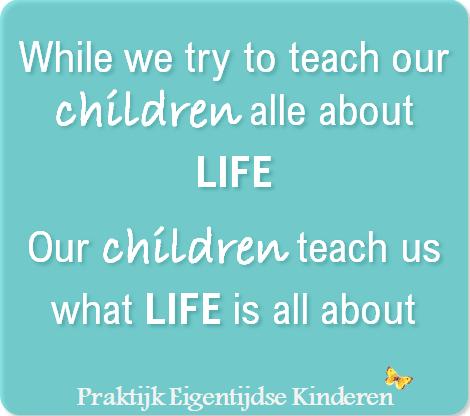 Wat we van onze kinderen leren