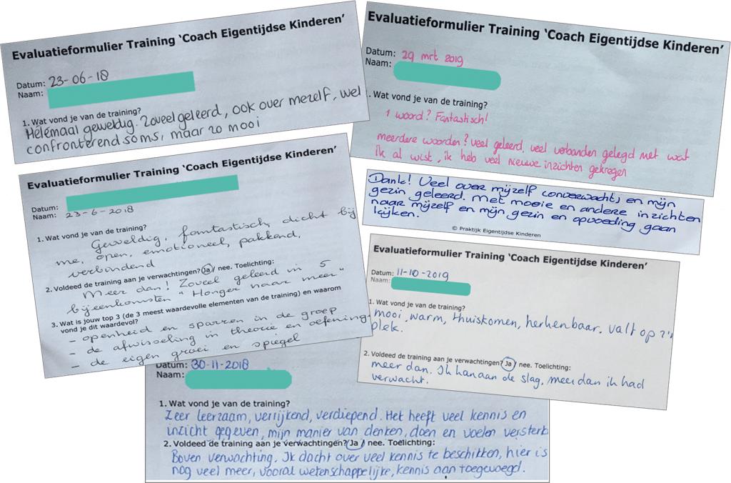 Ervaringen met Training HSK Coach Eigentijdse Kinderen
